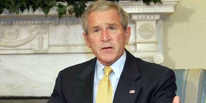 ABD eski Başkanı Bush ABD'nin içine düştüğü zavallı durumu bir cümle ile açıkladı