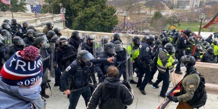 Kim derdi ki dünyaya demokrasi götüren ABD'de bunlar yaşanacak. ABD'de halk ayaklanmasından ilginç fotoğraflar
