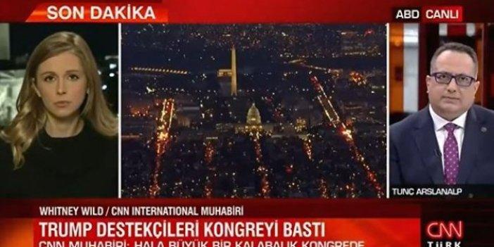 CNN Türk CNN International'a demokrasiyi sordu yayını anında kestiler
