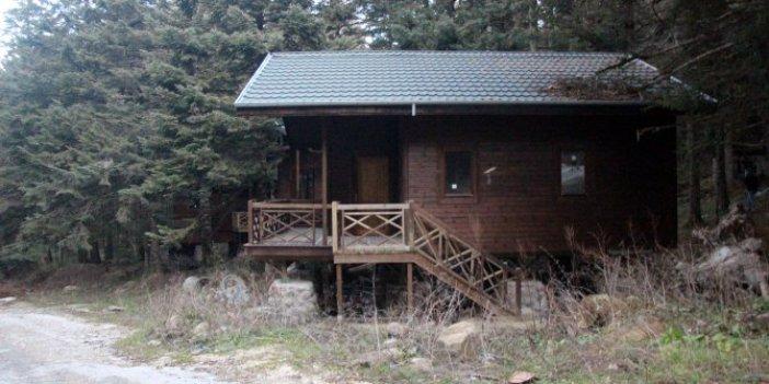 Bolu'da 7 milyon TL harcanan bungalovlar kullanılamıyor