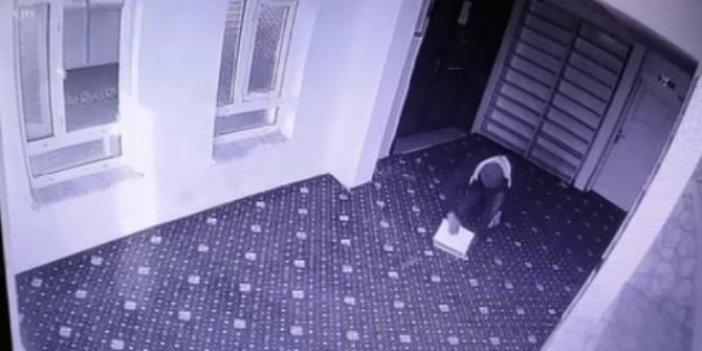 Amasya'da bir günde 2 cami soyan hırsız güvenlik kamerasına yakalandı. Polis cami faresini arıyor