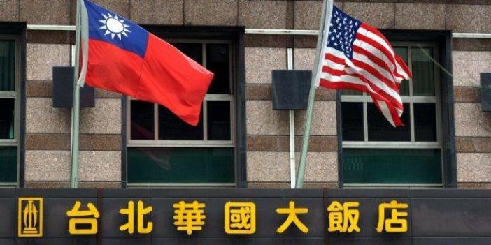 Çin çok kararlı. ABD Tayvan ilişkisinin bedeli ağır ödenecek