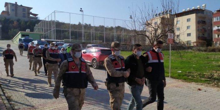 Altınözü ilçesinde üç aylık polis takibi sonucu belirlenen 3 şüpheli yakalandı.