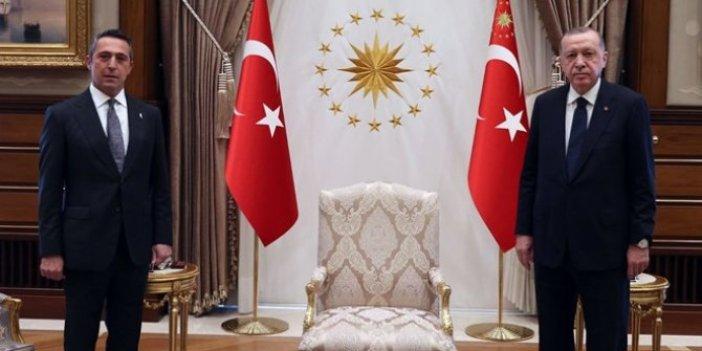 Ali Koç'tan Erdoğan'a sürpriz ziyaret