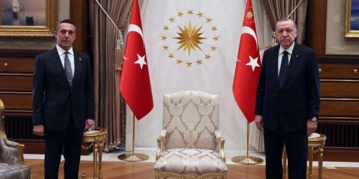 Cumhurbaşkanı Erdoğan Fenerbahçe Başkanı Ali Koç'a bunu sormuş
