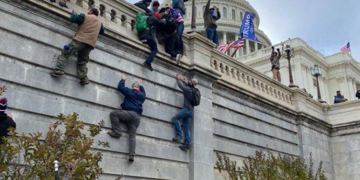 ABD'de Kongre binasına zorla girenler hakkında flaş gelişme
