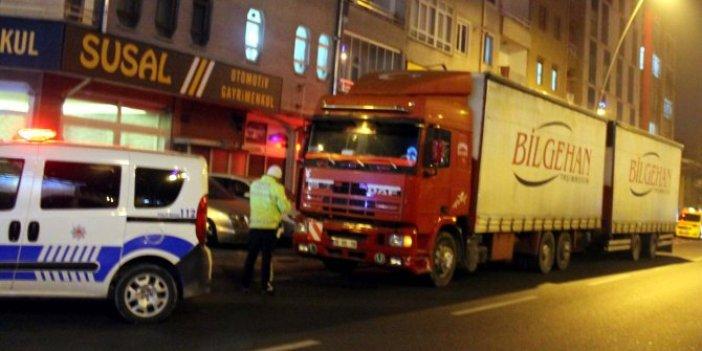 Kayseri'de alkollü araç kullanan sürücü 4 bin 829 TL ceza yedi