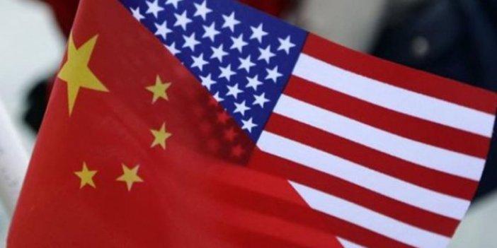 Çin'den ABD'ye çok sert tepki