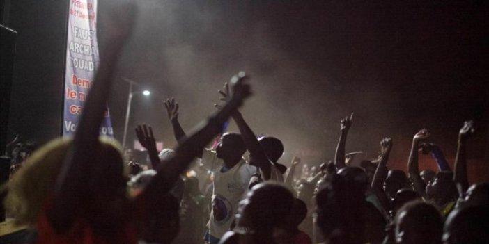 Orta Afrika Cumhuriyeti'nde sokağa çıkma yasağı