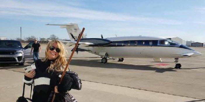 ABD'li emlak komisyoncusu  Jenna Ryan Kongre baskınına katılmak için özel jetini havalandırdı