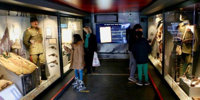 Çanakkale Savaşları'nın ruhu mobil müzede yaşatılıyor