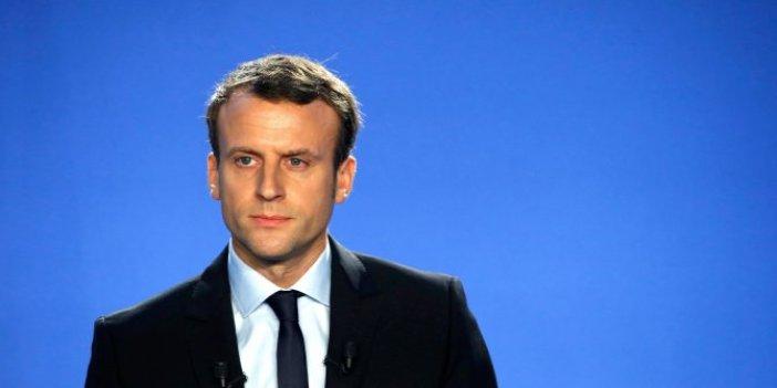 Fransa'da Macron'a anket şoku