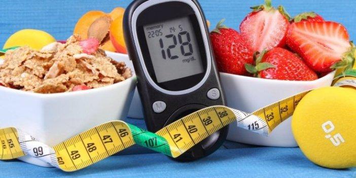 Şeker hastalığının düşmanı besinler. Bu yiyeceklere karşı duramıyor