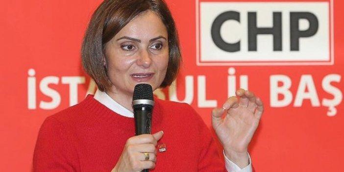 CHP'li Canan Kaftancıoğlu'ndan Cumhurbaşkanı Erdoğan'a dava