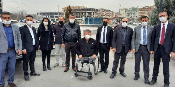 İYİ Partililer şehit ailelerini yalnız bırakmadı