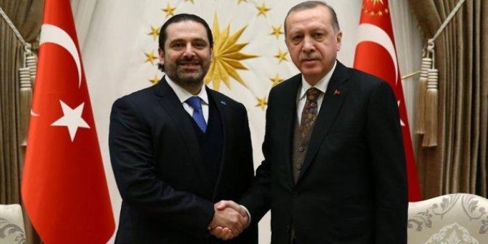 Cumhurbaşkanı Erdoğan Saad El Hariri'yi kabul etti