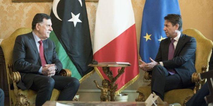 İtalya'dan Libya'yla flaş görüşme