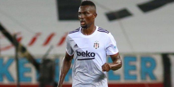 Beşiktaş'ta Mensah şoku yaşanıyor. Kulüpten açıklama geldi