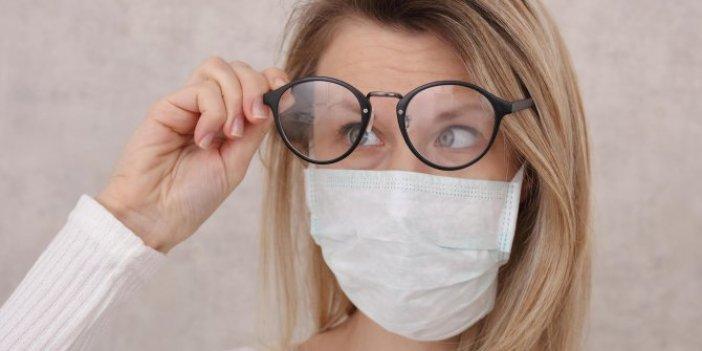 Gözlük kullananlar dikkat. Maske takarken aklınıza gelmeyecek öneriyi uzman isim açıkladı