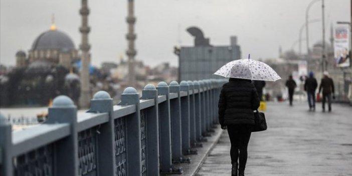 Meteoroloji şimdi uyardı. İstanbul için sarı alarm verildi. Başlıyor
