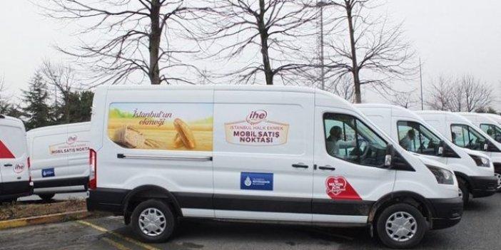 İBB'nin yeni projesi hizmete girdi. 40 mobil İstanbul Halk Ekmek büfesi açıldı