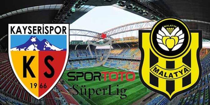Kayserispor zorlu Malatyaspor maçında 3 puanı 1 golle aldı