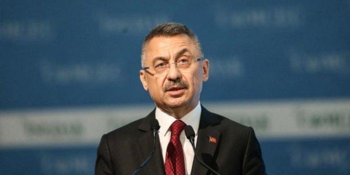 Cumhurbaşkanı Yardımcısı Oktay'dan şehit asker için başsağlığı mesajı