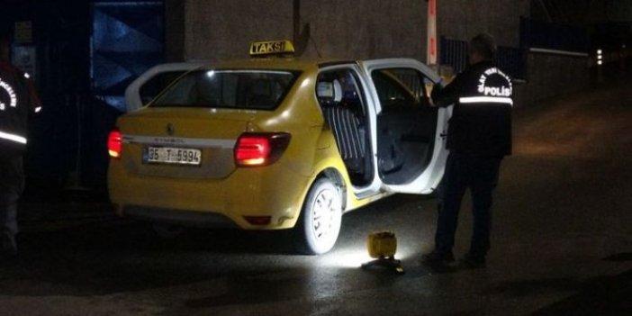 Arkadaşına çarptı diye taksiciyi bıçakladı