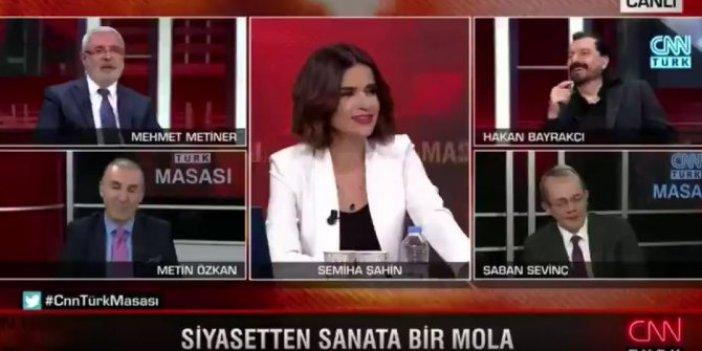 Mehmet Metiner ve Hakan Bayrakçı siyasetten sıkılınca olanlar oldu. CNN Türk ekranlarında yaşananlar geceye damga vurdu