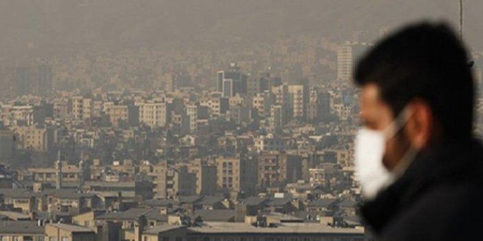 Tahran'da hava kirliliği riski en üst seviyede