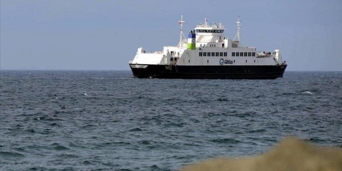 Gökçeada ve Bozcaada feribot hatlarında fırtına nedeniyle yarın sefer yapılamayacak