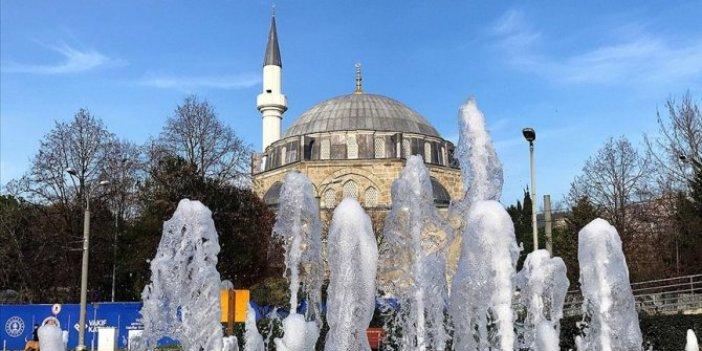 Mimar Sinan'ın eseri Pertev Mehmet Paşa Cami'nde sona gelindi