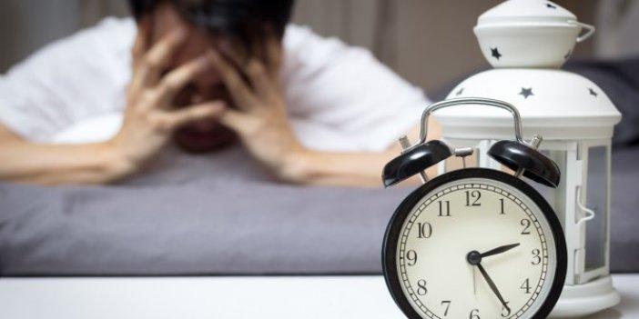 Uyku problemi çekenlerin dikkatine! Daha hızlı uykuya dalmak için 8 ipucu