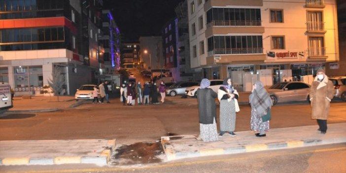 Ankara'da meydana gelen deprem Kırıkkale'de hissedildi. O anlar kameraya böyle yansıdı