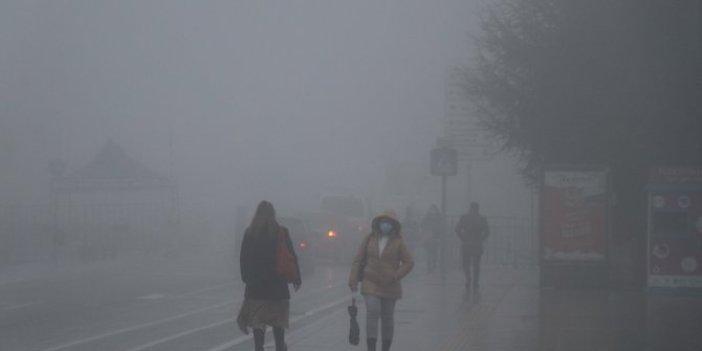 Bolu ve Düzce'de yoğun sis hayatı olumsuz etkiliyor