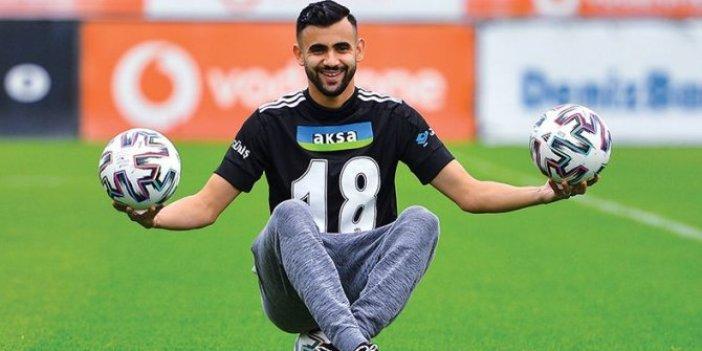 Beşiktaş'ın yıldızı Ghezzal'dan flaş açıklamalar