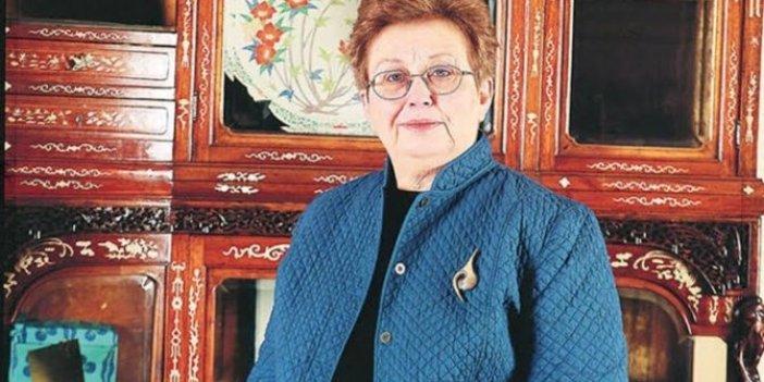 Topkapı Sarayı eski müze müdürlerinden Dr. Filiz Çağman Edirne'de hayatını kaybetti