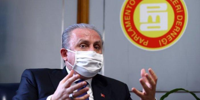 TBMM Başkanı Mustafa Şentop'tan iç tüzük açıklaması