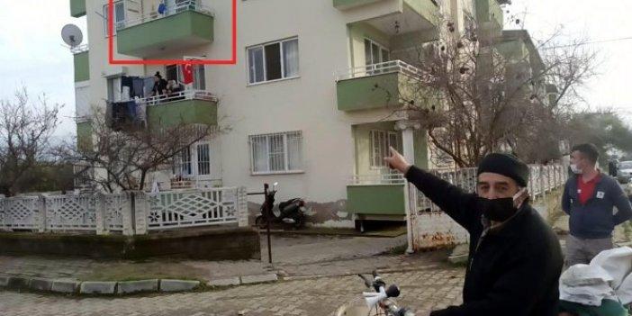 Aydın Nazilli'de 9 yaşındaki Kemal, 2'nci kattan düştü