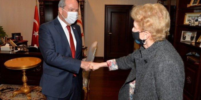 KKTC Cumhurbaşkanı Tatar BM Temsilcisi Lute'u kabul etti