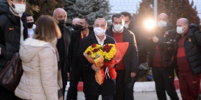 Galatasaray kafilesi Malatya'da