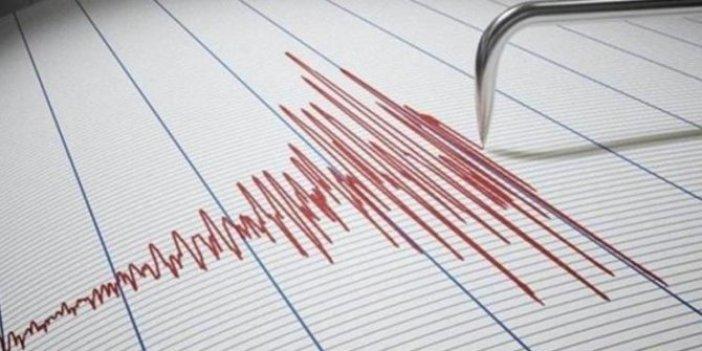 Akdeniz'de şiddetli deprem