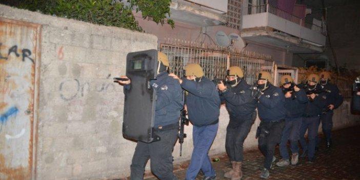 Adana'da şafak vakti IŞİD baskını