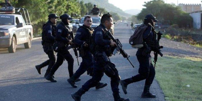 Çete polise saldırdı ortalık kan gölüne döndü