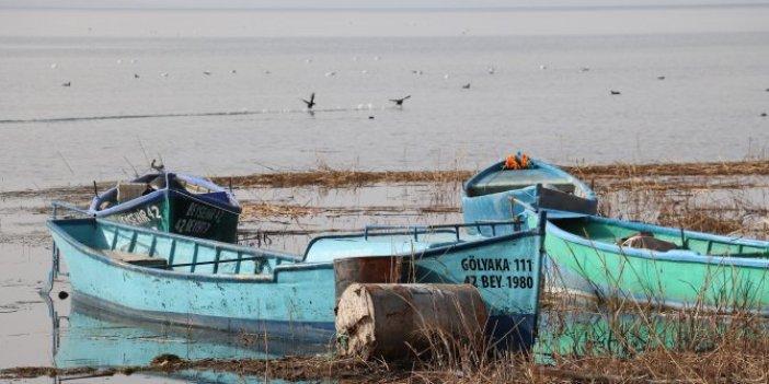 Beyşehir Gölü kuraklık nedeniyle kırmızı alarm veriyor. Azalan yağışlar Türkiye'nin en büyük tatlı su gölünü de vurdu