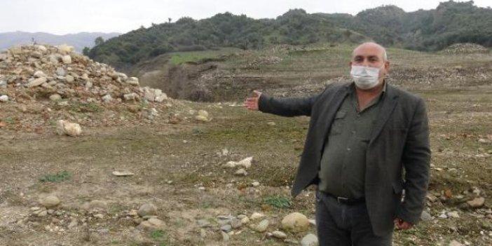 Aydın'da sular çekilince ortaya çıktı. Görenler hüngür hüngür ağladı