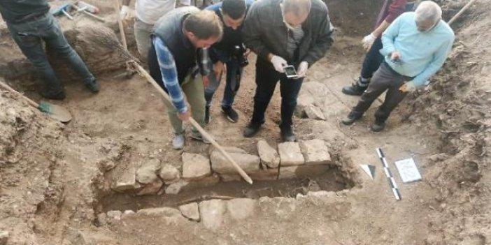 Diyarbakır'da 1. Kılıç Arslan'ın mezarı için yapılan kazı çalışmasında kalıntılar bulundu