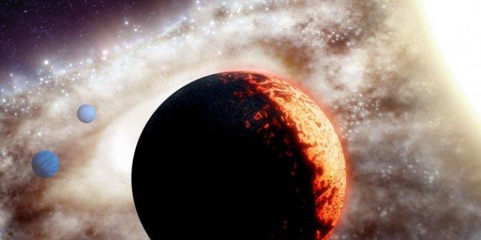 Uzay tarihinde ilk. Hawaii Üniversitesi'nden gökbilimciler keşfetti. Dünyadan 50 kat daha büyük