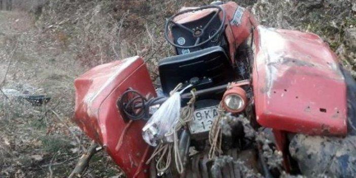 Aydın'da traktörle uçurumdan yuvarlanan 2 kardeşin durumu kritik