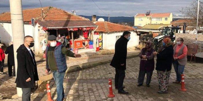 İYİ Parti'den fırtına ve hortumdan etkilenen Şarköy ilçesine ziyaret